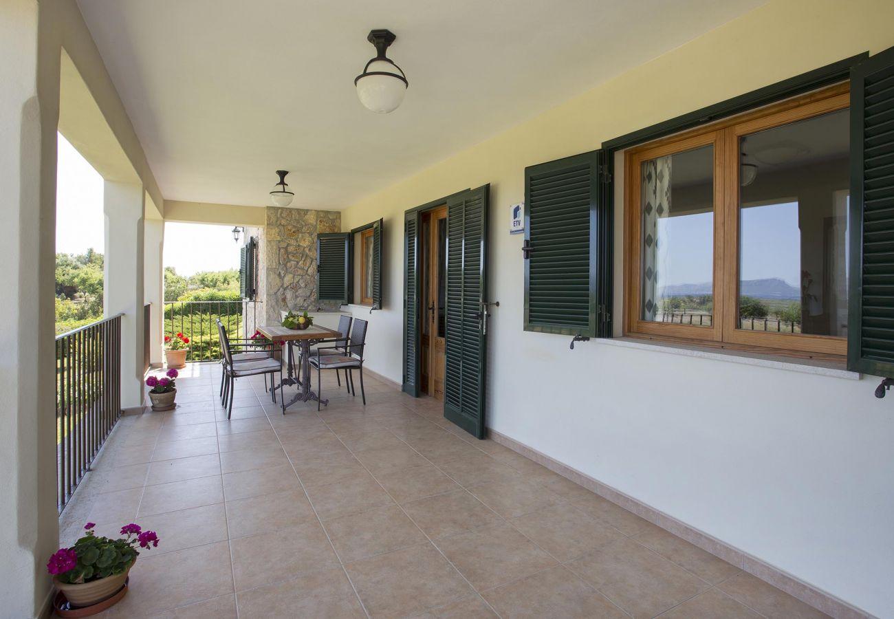 Villa en Alcúdia - AUBELLONS. Espacio y tranquilidad cerca de Alcudia