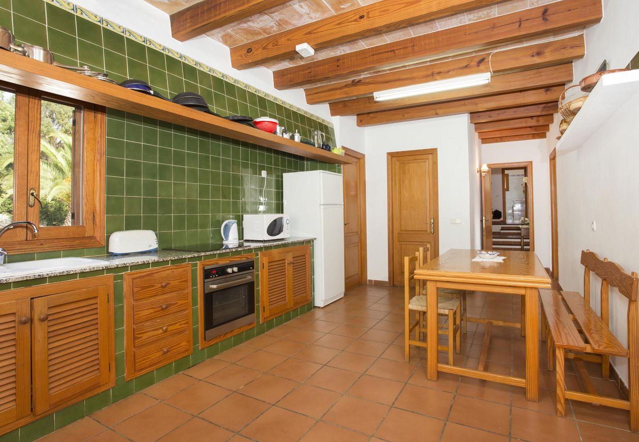 Villa en Pollensa - HOSTALET. Amplitud y naturaleza cerca del Golf de Pollensa
