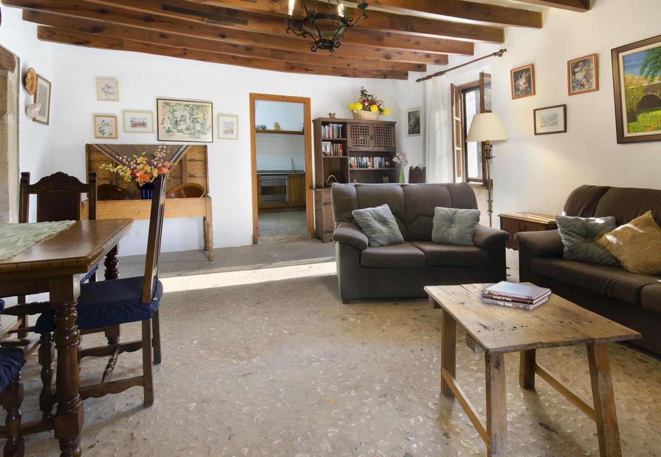 Villa en Pollensa - CAMP REDO. Pollensa, a tiro de piedra