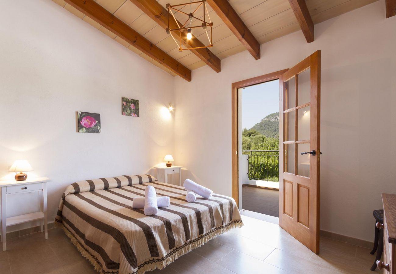 Villa en Pollensa - CLOS. Bonita casa de campo con fantásticas vistas a las montañas