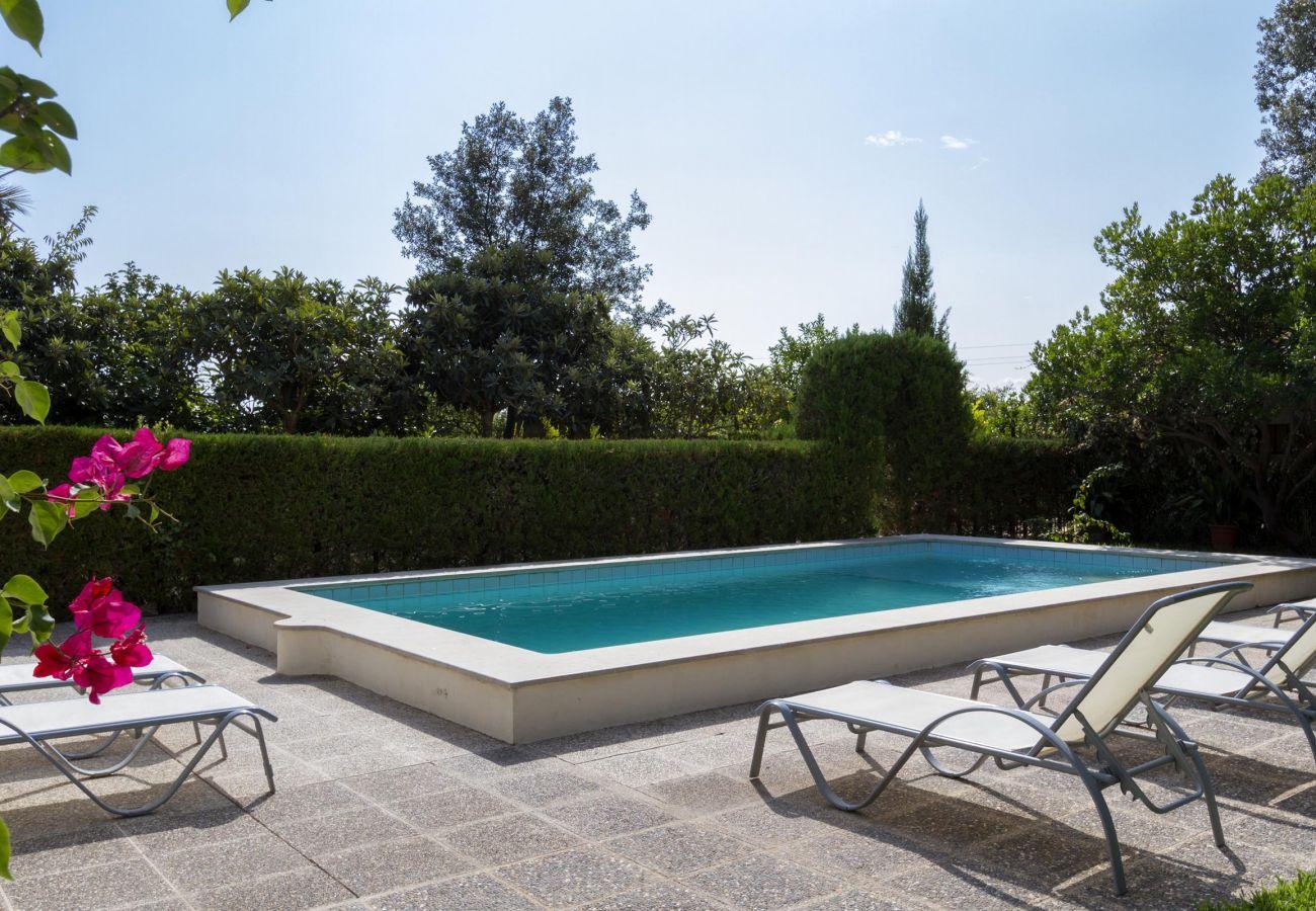 Villa en Pollensa - CREUS. Atractiva casa con piscina