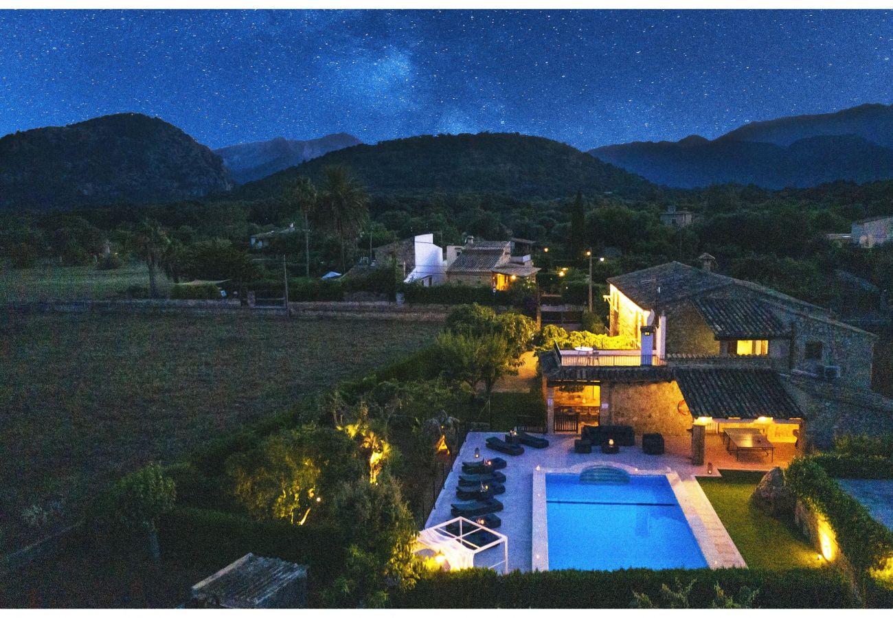 Villa en Pollensa - CREVER. Restauración de fábula para un resultado impresionante