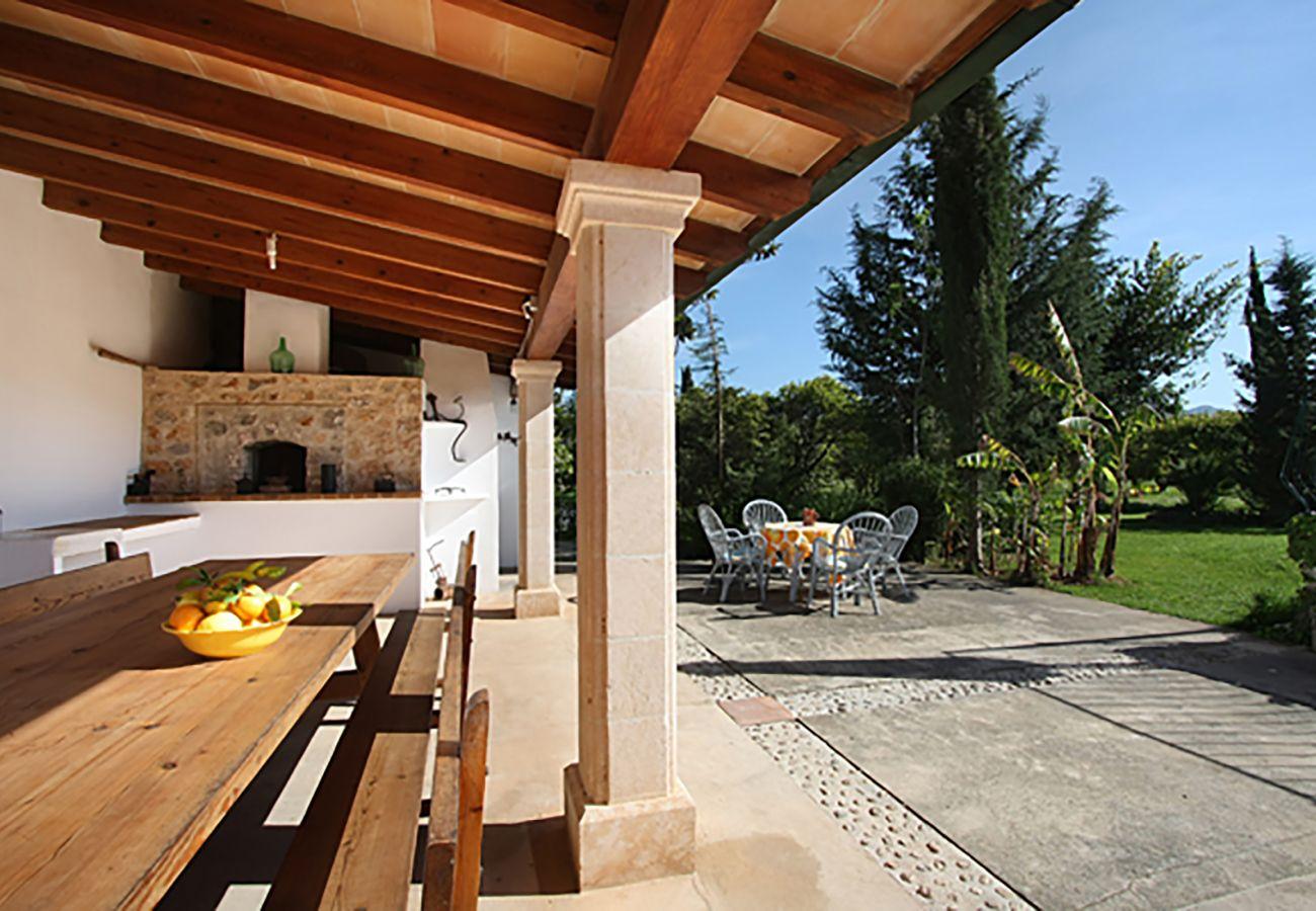 Villa en Pollensa - HORT 3 CAMES. Gran casa de 6 habitaciones cerca de Pollensa