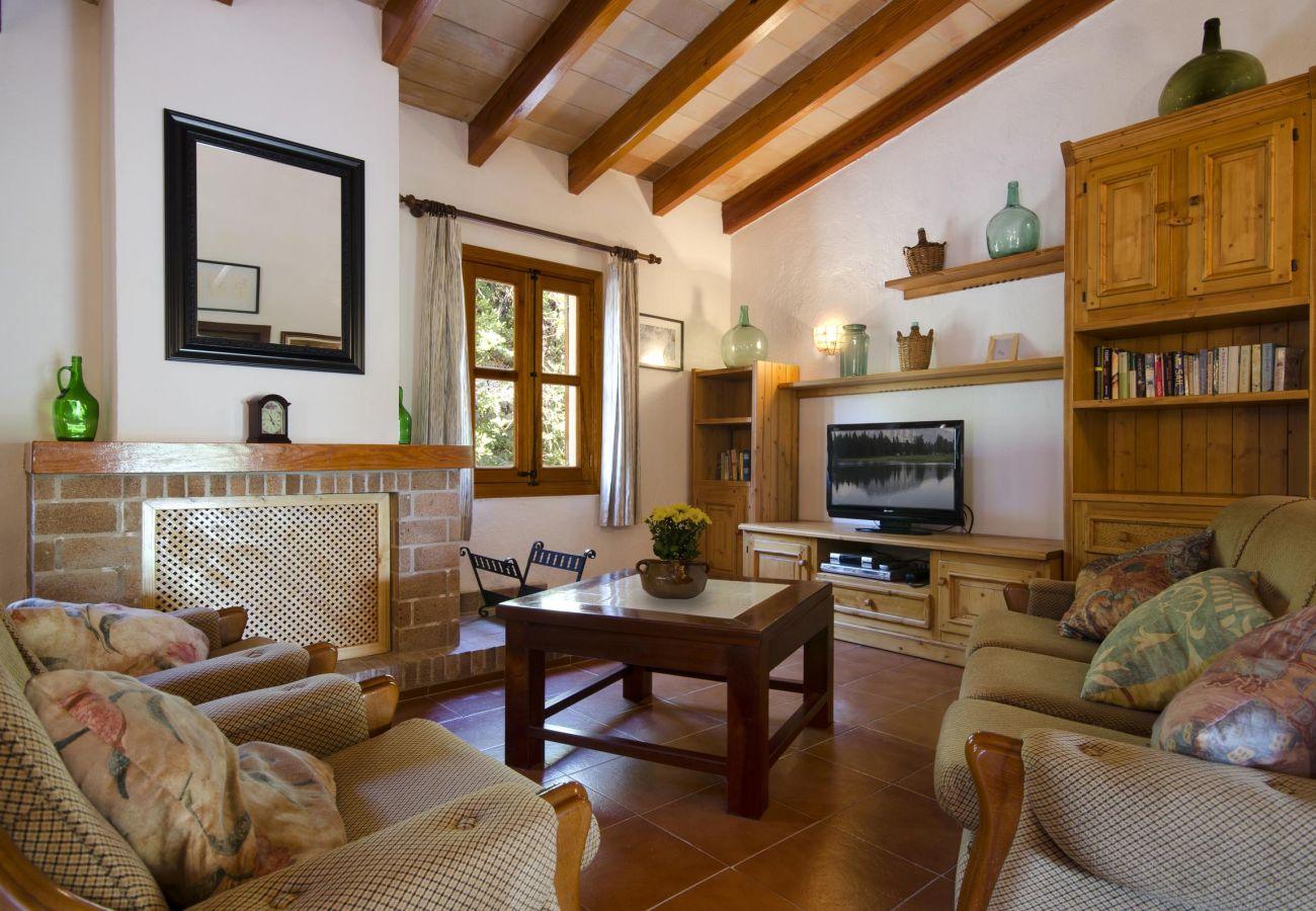 Villa en Pollensa - VARELLA. Encantadora casa en Pollensa