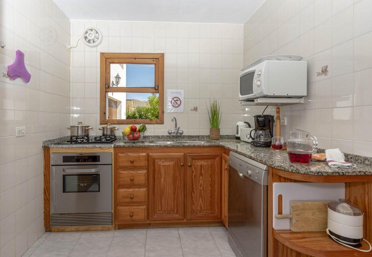 Villa en Pollensa - JAUME. Acogedora casa en una tranquila zona rural de Pollensa