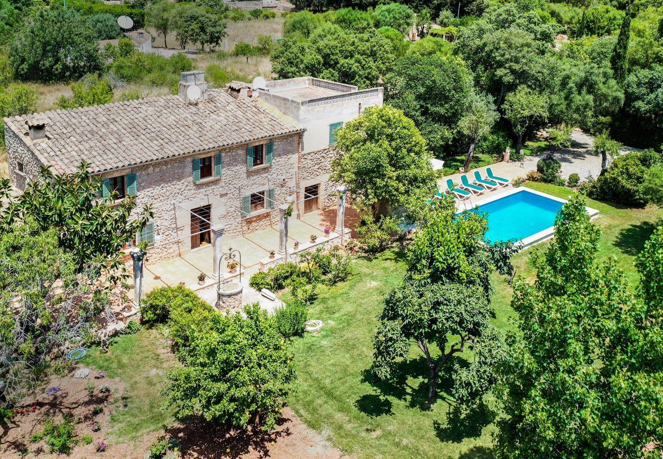 Villa en Pollensa - PUNXA. Acogedora casa rústica mallorquina en Pollensa