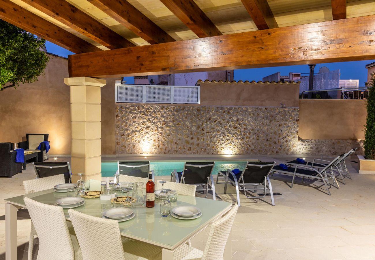 Villa en Pollensa - HORTA 55. Soberbia casa a 200 mts del centro de Pollensa