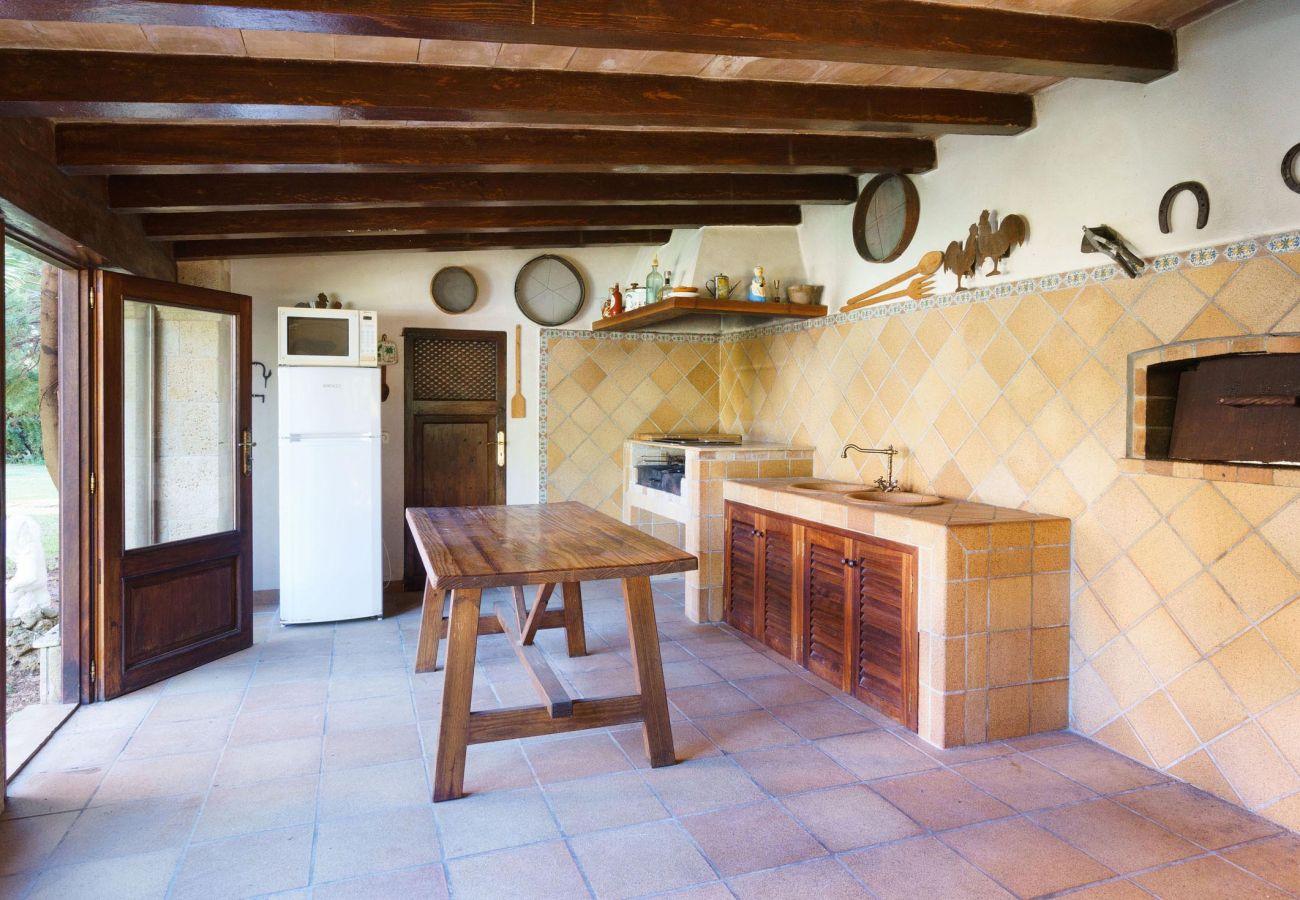 Villa en Palmanyola - MERCER. Bonita villa cerca de Palma, con sauna y gimnasio