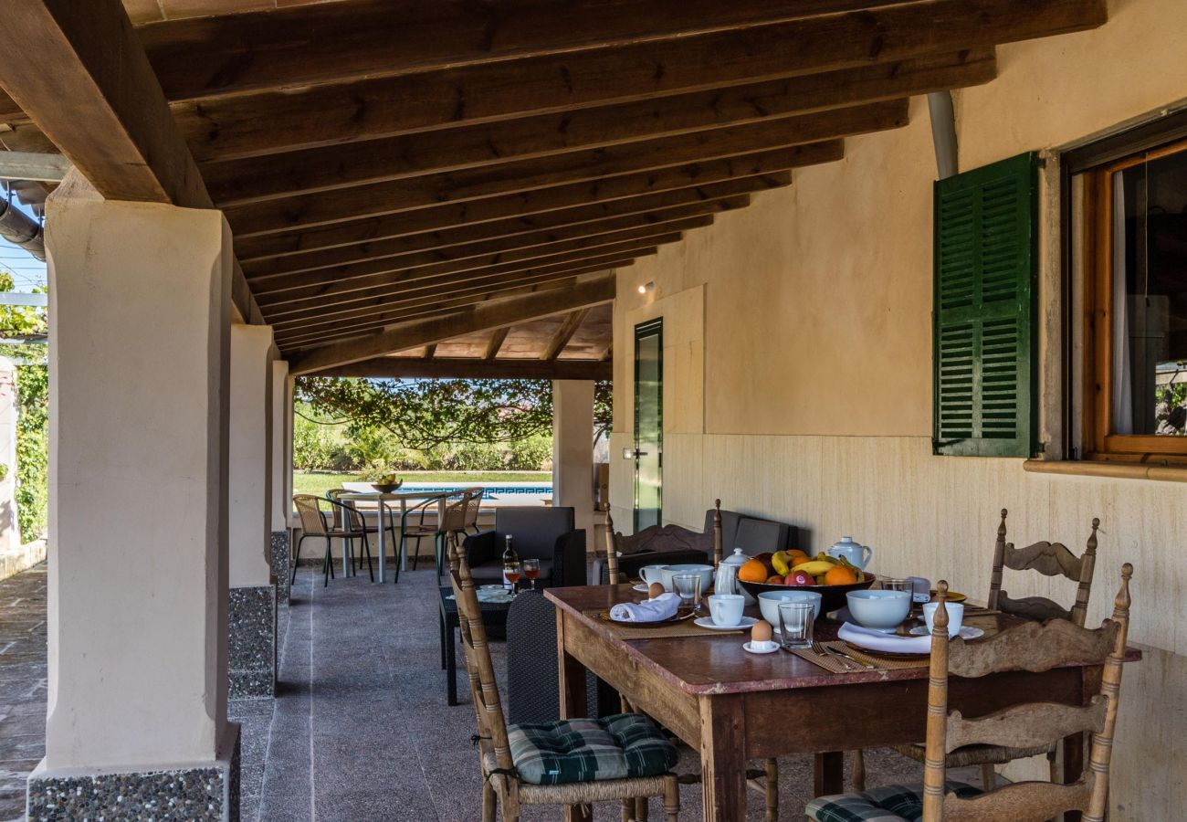 Villa en Pollensa - CATALINA PETIT. Acogedora y agradable