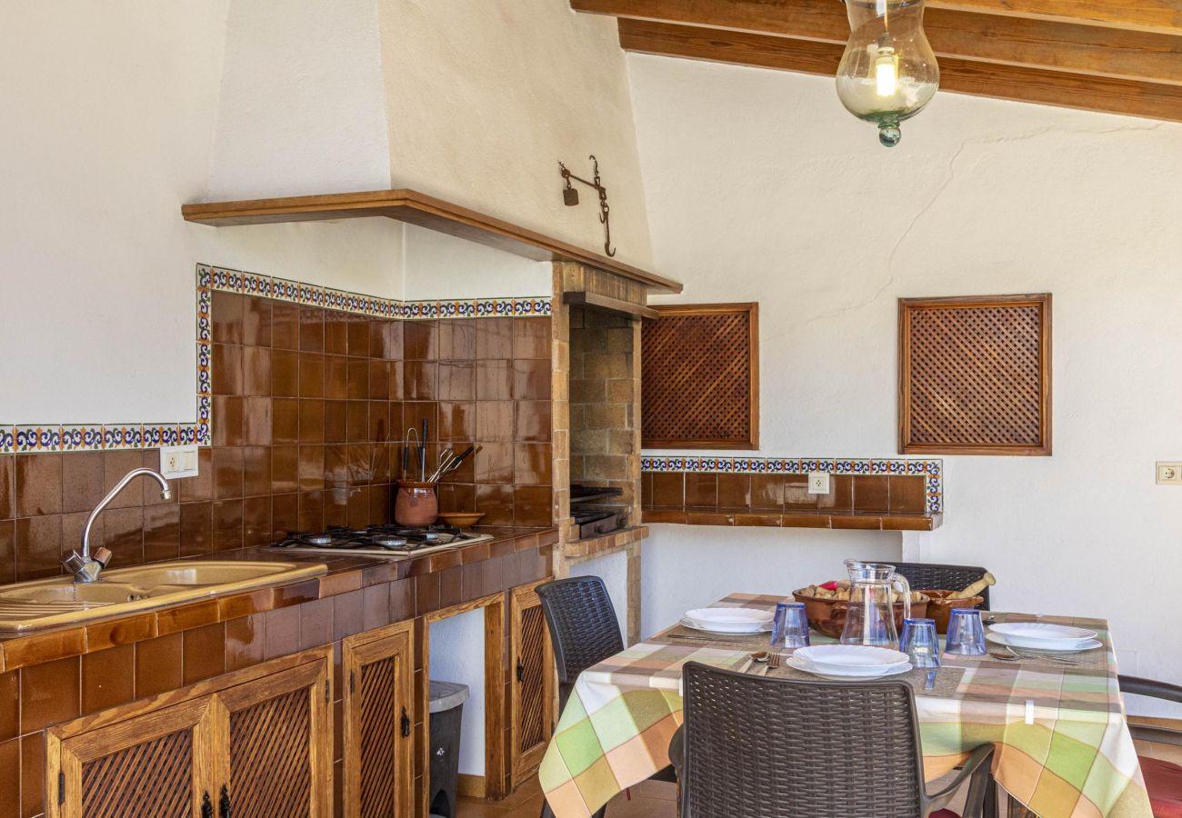 Villa en Pollensa - SORT. Acogedora villa cerca de Pollensa