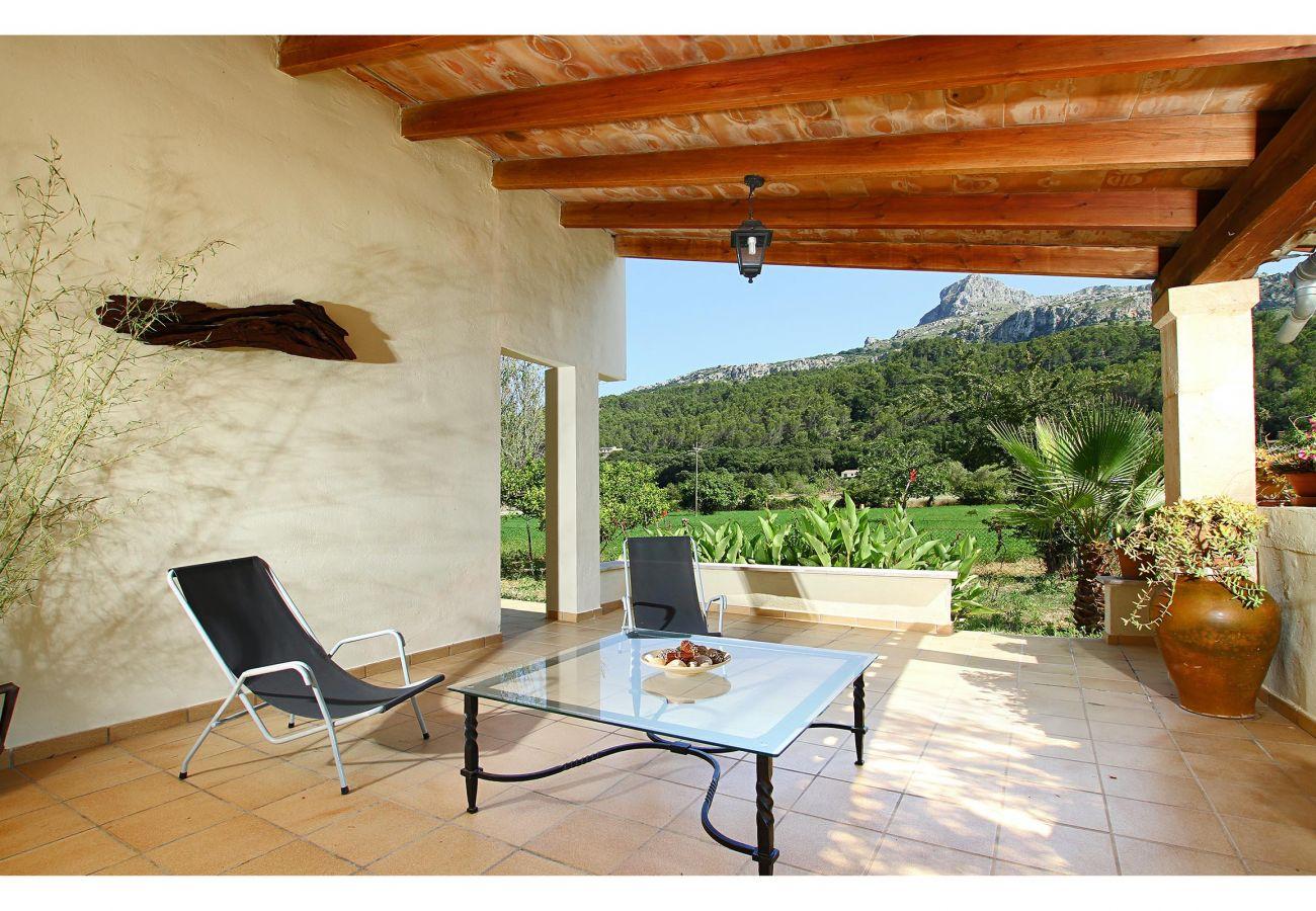 Villa en Pollensa - PLANA. Fantástica villa en zona muy tranquila