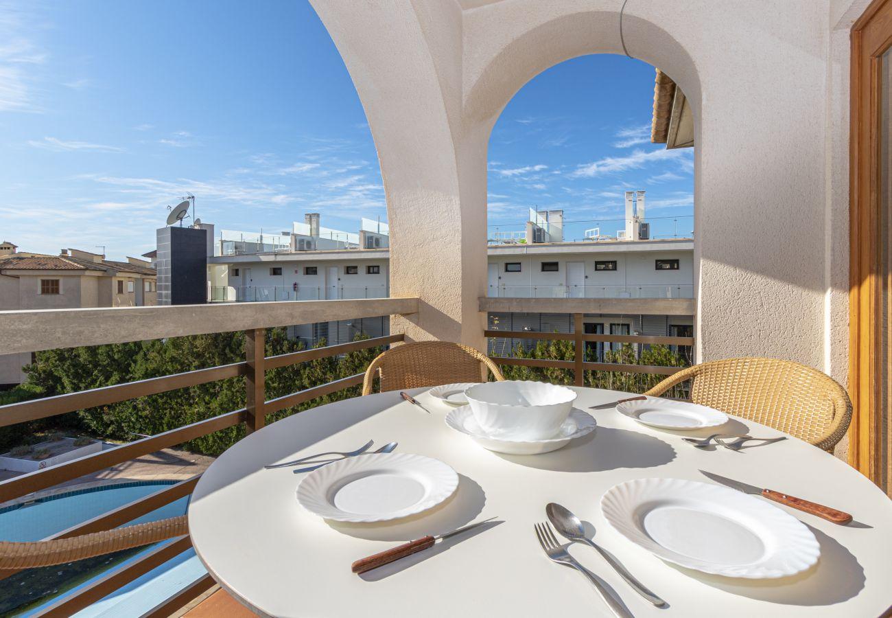 Apartamento en Puerto Pollensa - VORAMAR 2F. Apartamento cerca playa