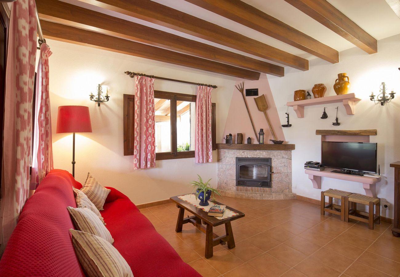 Villa en Pollensa - ASSUMPCIO. Bonita villa cerca de Pollensa