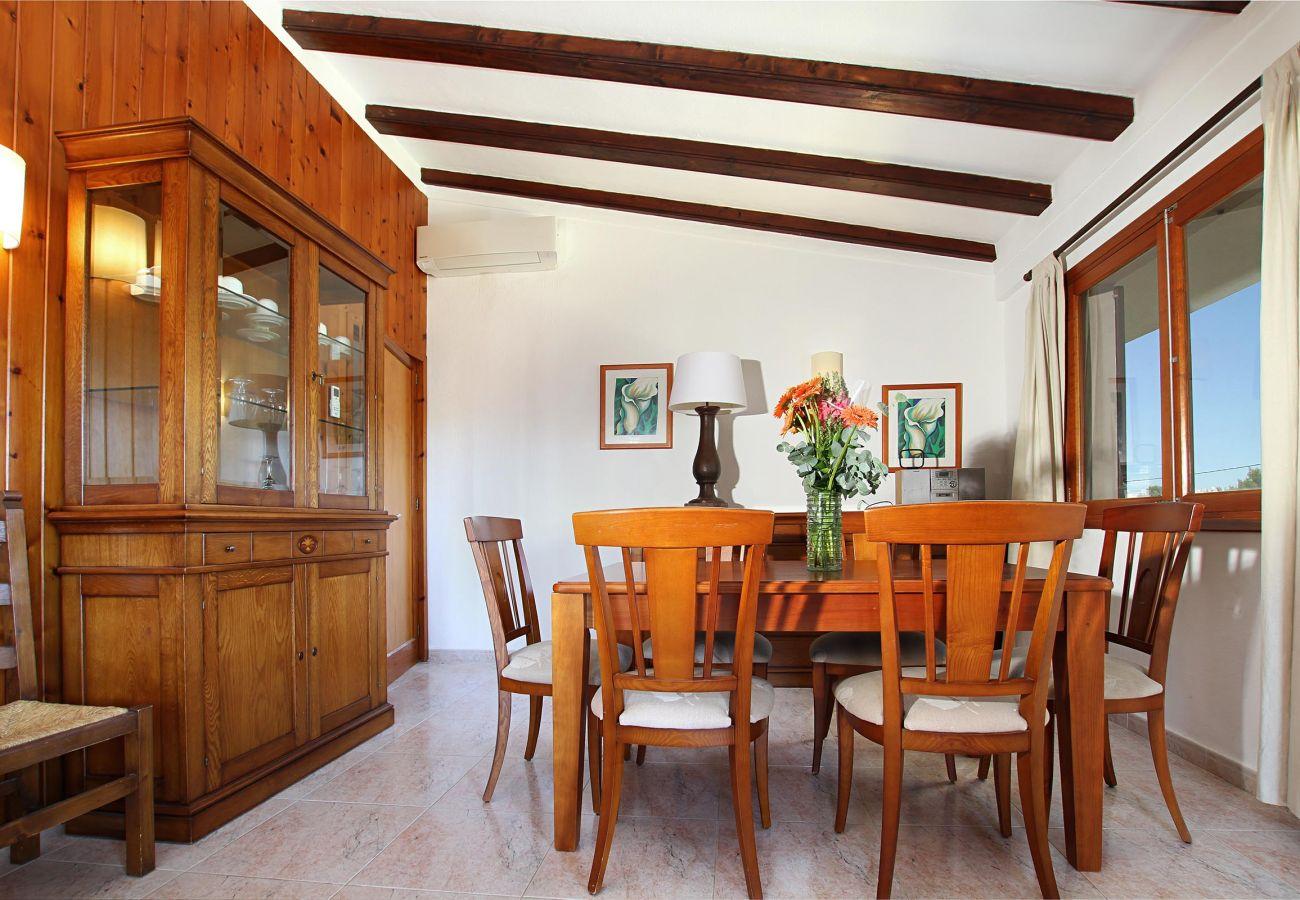 Villa en Puerto Pollensa - ANIMETA. Muy próxima al Puerto Pollensa