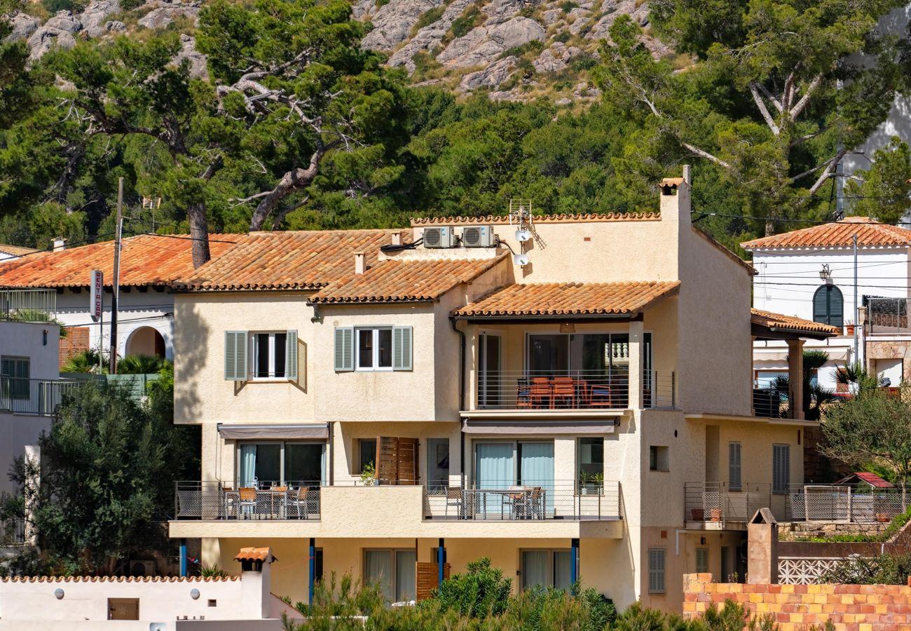 Villa en Cala San Vicente - GUILLEM. Preciosa casa a 150 mts de la playa