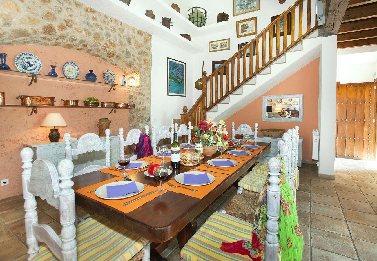 Villa en Pollensa - BENNASSAR. Tradición y gusto cogidos de la mano