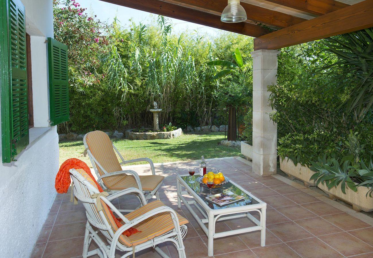 Villa en Puerto Pollensa - IGNACIO. Sentirse en el camp estando en el Pto. Pollensa