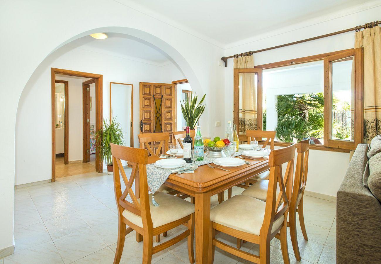 Villa en Puerto Pollensa - LORENZO. Magnfíca casa a distancia a pie del Pto. Pollensa