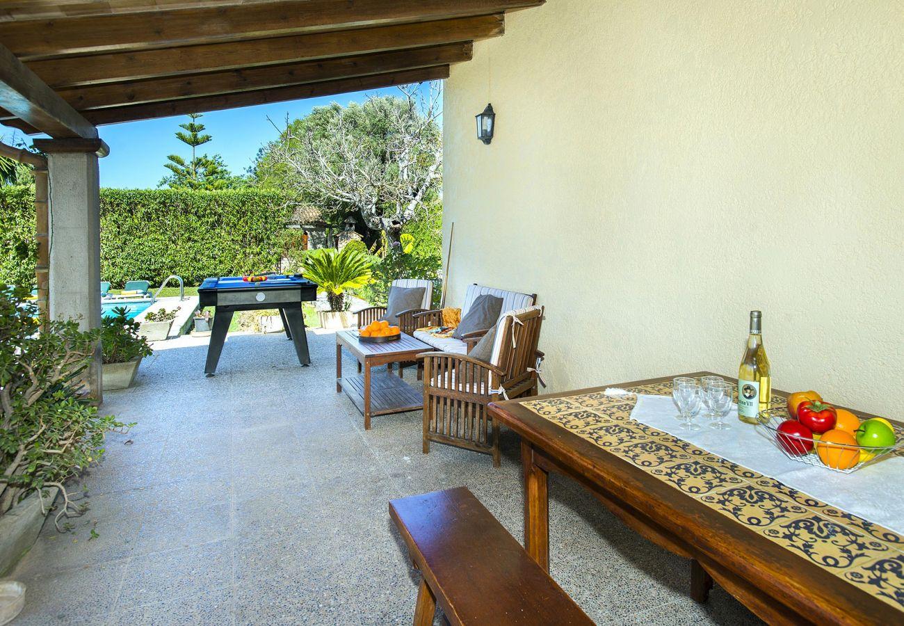 Villa en Alcúdia - TABERNA. Sol y diversión a medio camino entre Pollensa y Alcudia
