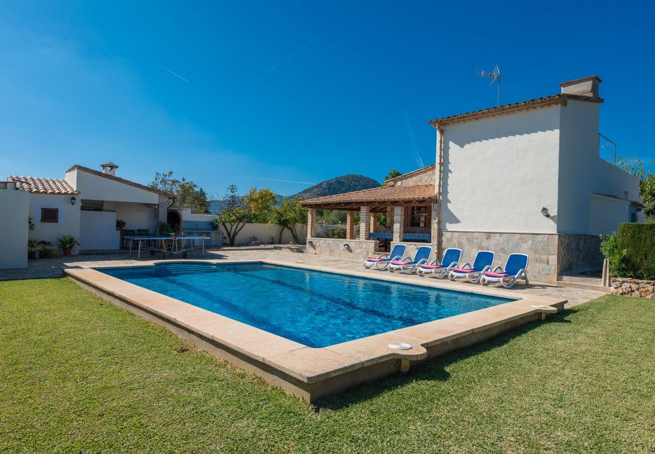 Villa en Pollensa - YESERO. Bonita villa de 3 habitaciones