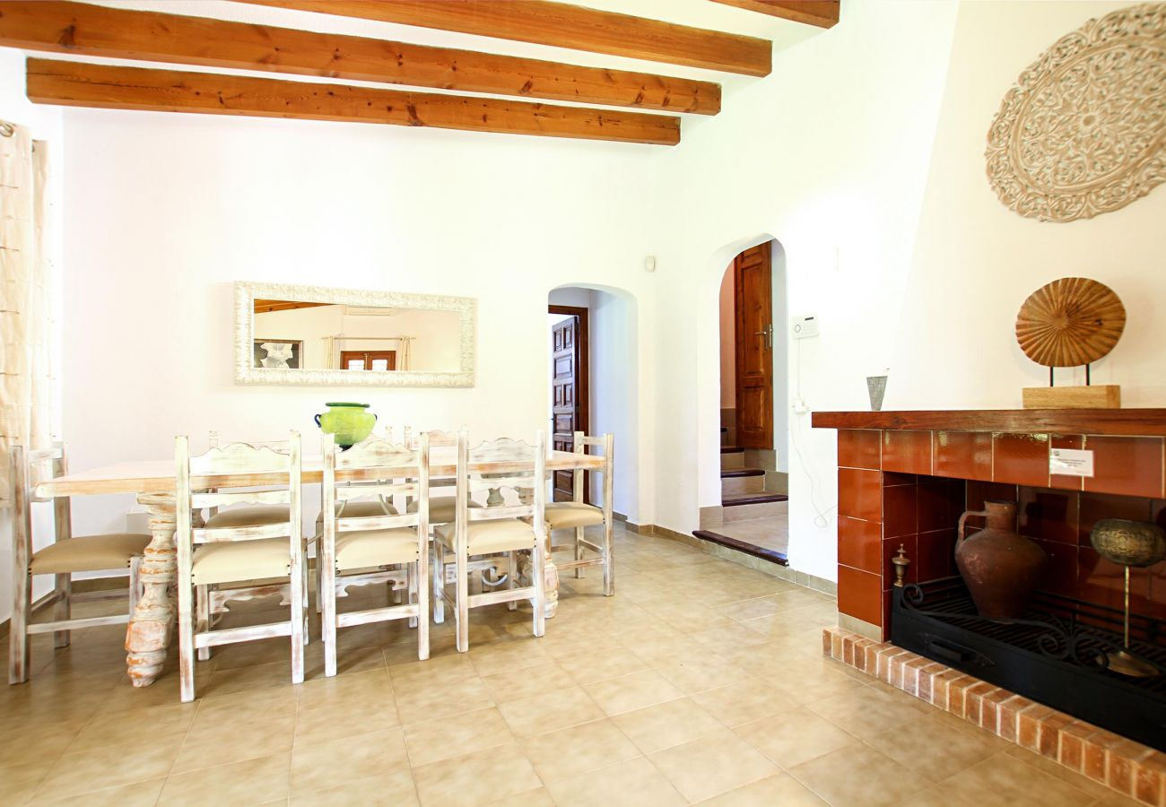 Villa en Puerto Pollensa - BARRACA. Remanso de paz a 10 min. a pie del centro
