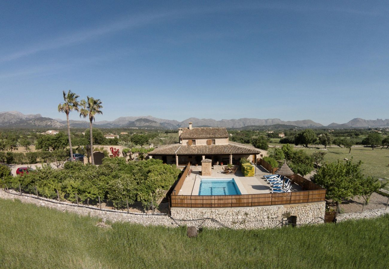Villa en Alcúdia - SOU. Bonita casa de campo para 10 personas