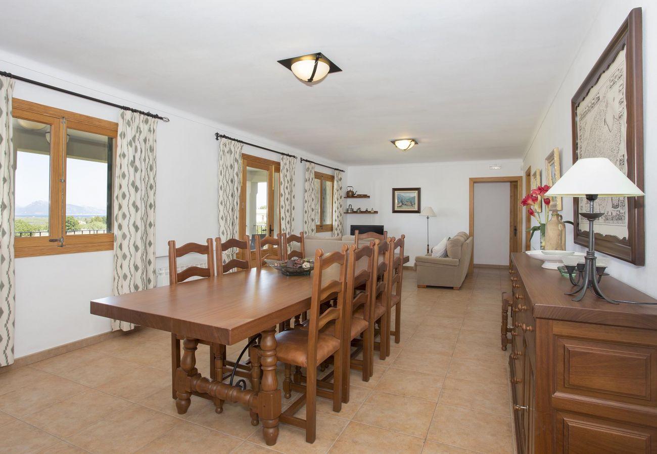 Villa in Alcudia - AUBELLONS. Space and calm near Alcudia