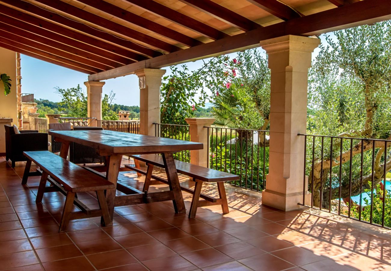 Villa in Pollensa - HOSTALET. Spaciousness and nature near the golf course