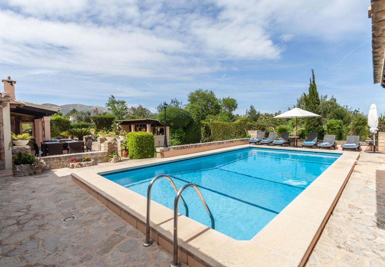 Villa in Pollensa - FULLOS. Lovely holiday home near Pollensa