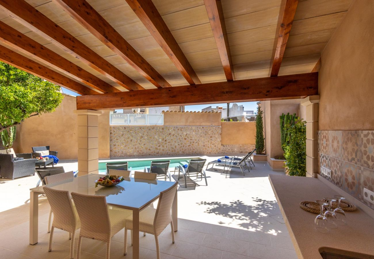 Villa in Pollensa - HORTA 55. Superb house 200 m from the town centre