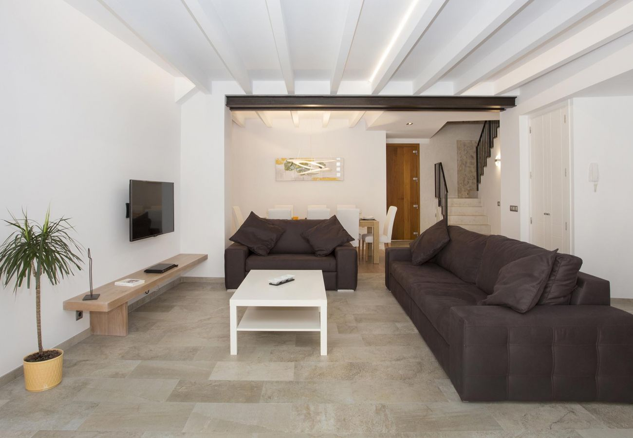 Villa in Pollensa - SANT SEBASTIA. Modern villa in Pollensa