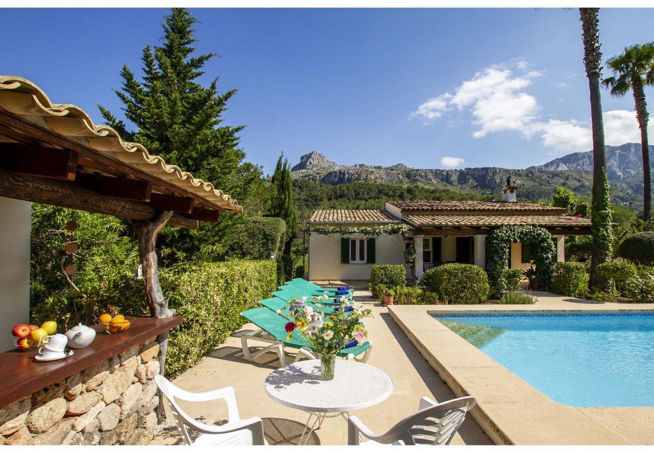 Villa in Pollensa - PLANA. Fantastic villa in a very quiet area