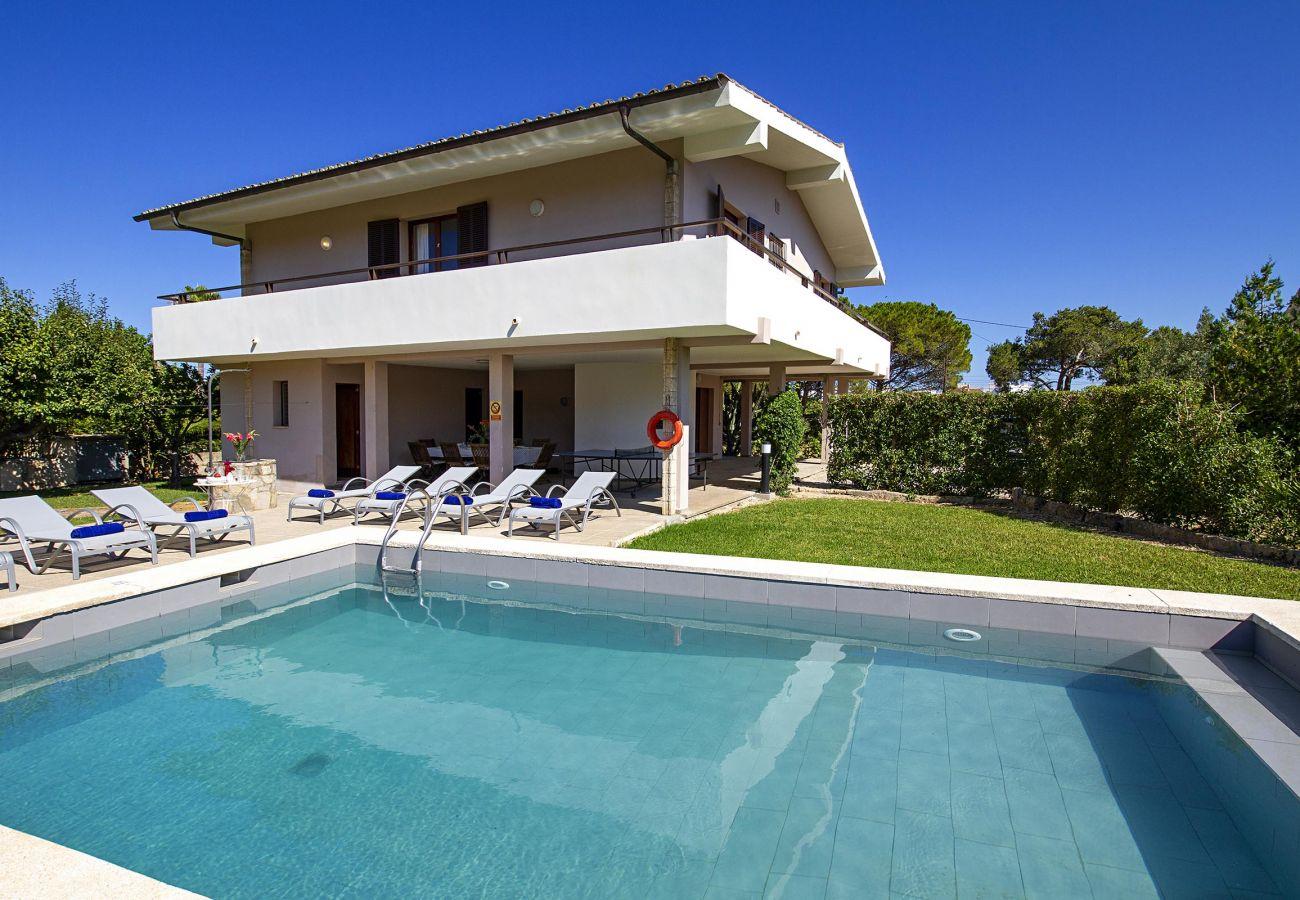 Villa in Puerto Pollensa - ANIMETA. On walking distance to Puerto Pollensa